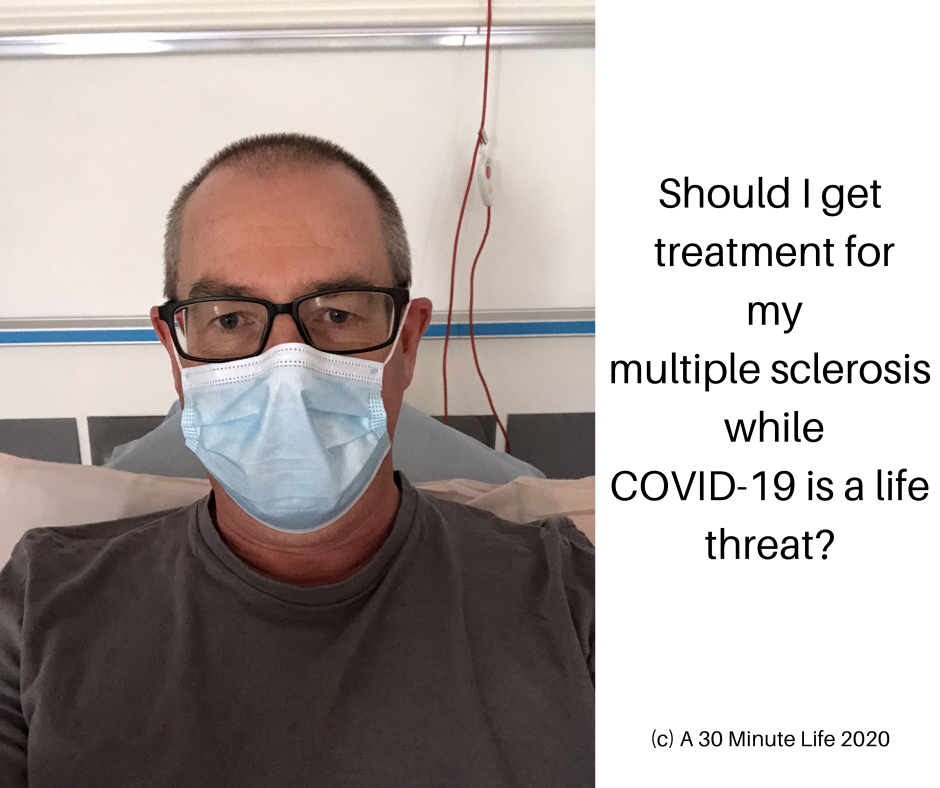 Should I treat MS while COVID-19 is active?